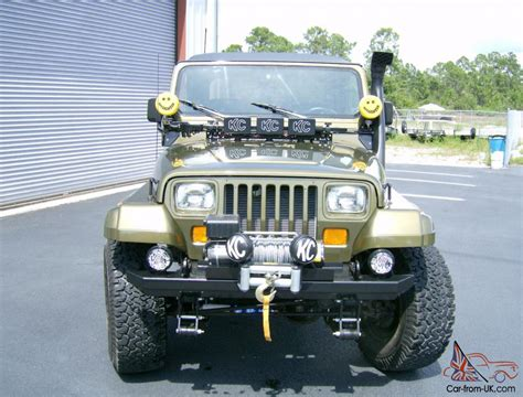 small jeep wrangler 1989 jeep wrangler yj with small block chevy