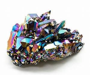 Titanium Quartz Cluster Crystal Vaults