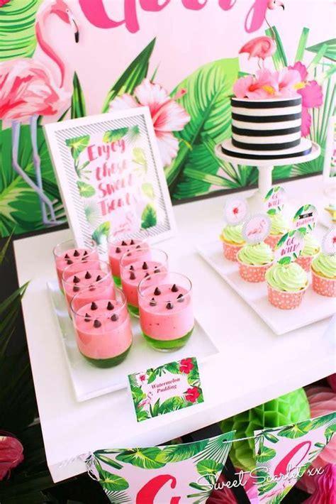 geburtstagsfeier 18 ideen flamingos birthday ideas photo 4 of 18 diy geburtstagsfeier ideen