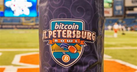 Petersburg bitcoin bowl coin, to be used for the coin toss at kickoff! The Bitcoin Bowl Was Too Weird for Its Time