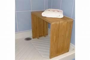 Bois Pour Salle De Bain : banc teck massif pour salle de bains 60 cm la galerie du teck ~ Melissatoandfro.com Idées de Décoration