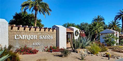 canyon sands palm springs condos apartments  sale