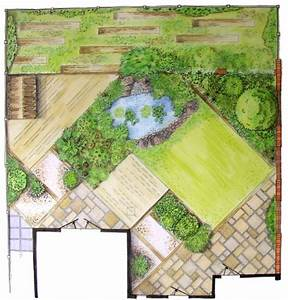 Kleine Gärten Große Wirkung : im garten diagonale linien gestalten gartendesign pinterest linie gestalten und g rten ~ Markanthonyermac.com Haus und Dekorationen