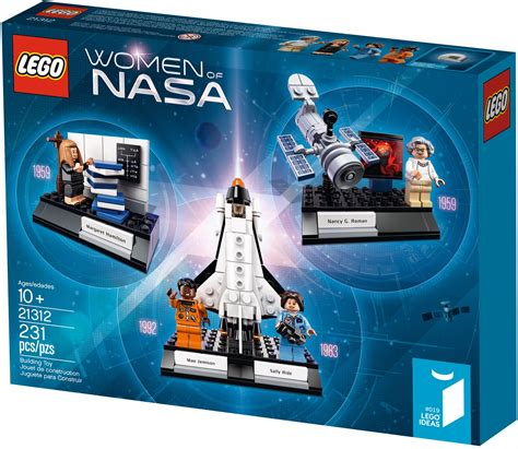 Lego's Women of NASA kit to include astronauts Sally Ride ...