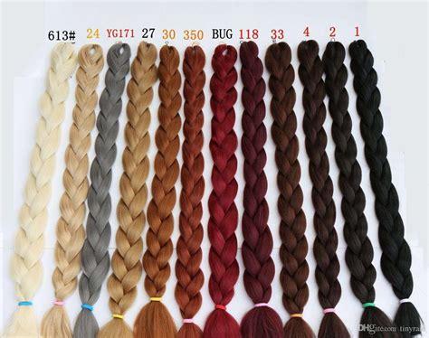 Kanekalon Hair X-braid Ultra Volume 82inch 165g Multi