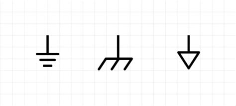 ground symbols electronics