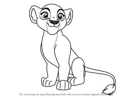 learn   draw kiara   lion guard  lion guard step  step drawing tutorials