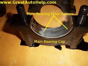 Ford Mustang 5 0l Crank Main Bearings Worn Out