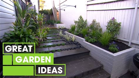 inspirational small space gardens gardening great home
