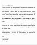 Letters Of Recommendation For Graduate School 38 Graduate School Letters Of Recommendation Free Cover Letter 8 Recommendation Letter For An Employee For Graduate Recommendation Letter For Graduate School From Employer