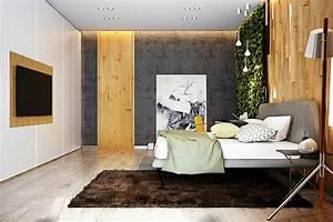 Chambre Ambiance Zen : la chambre coucher adulte avec d co artistique et cr ative ~ Zukunftsfamilie.com Idées de Décoration