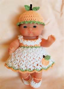 5 Inch Baby Doll Clothes Crochet Patterns