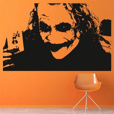 joker heath ledger wall art iconic wall stickers