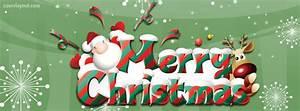 Titelbilder Facebook Ideen : merry christmas santa reindeer facebook cover coverlayout ~ Lizthompson.info Haus und Dekorationen
