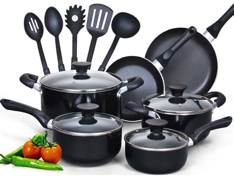 cooking utensil sets cook cookware non stick