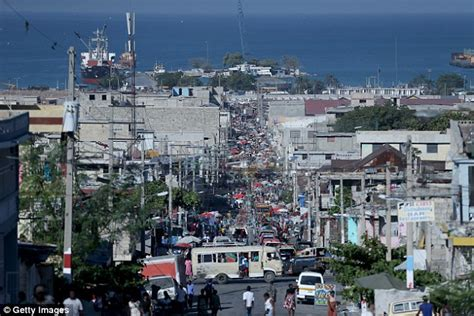 haitian gunman kills us roberta edwards in port au prince daily mail
