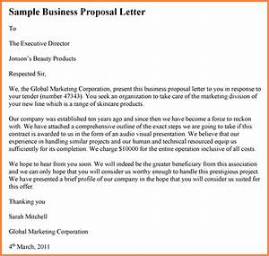 6 drafting business proposal project proposal With proposal letter to offer products