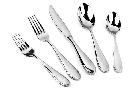 yamazaki austen stainless steel flatware set  piece cutlery