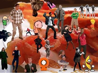 Dance Meme Bacon Rave Dancing Gifs Patrick