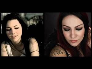Amy Lee BROKEN Makeup tutorial - YouTube