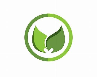 Leaf Symbol Nature Vector Template Clipart