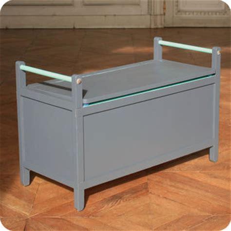 accessoire de rangement cuisine meubles vintage gt rangements gt banc coffre vintage bleu