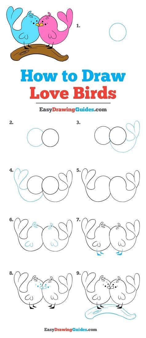 Easy Love Drawings Step by Step