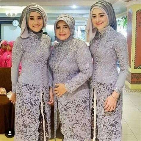 model kebaya batik modern  pesta model baju muslim