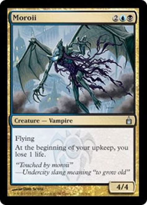 Mtg Deck Definition by Moroii Ravnica City Of Guilds Gatherer Magic The