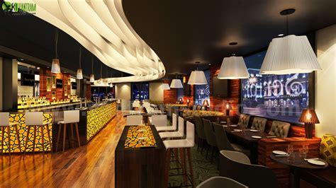 Unique Bar Designs by Commercial Unique Bar Interior Rendering Design Cgi