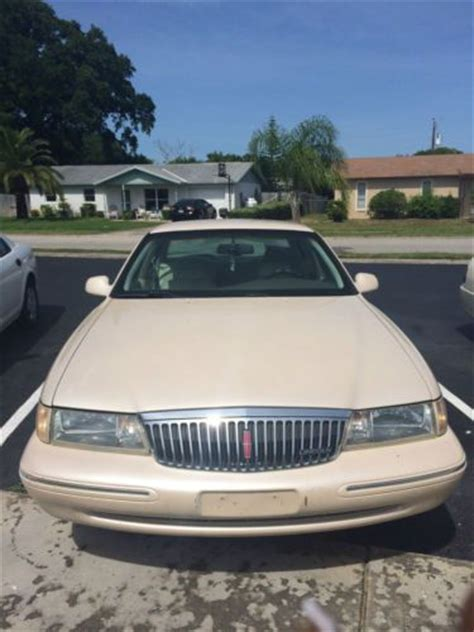 best auto repair manual 1997 lincoln continental instrument cluster sell used 1997 lincoln continental spinnaker edition sedan 4 door 4 6l in daytona beach florida