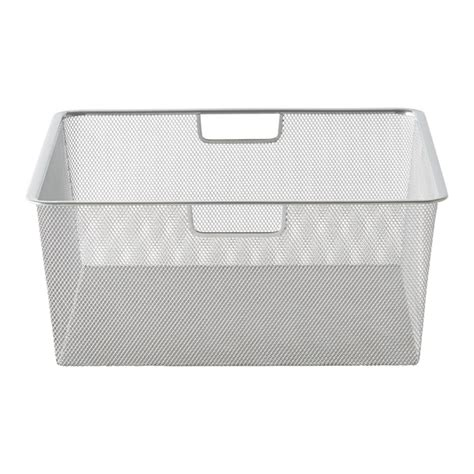 platinum cabinet sized elfa mesh drawers the container store