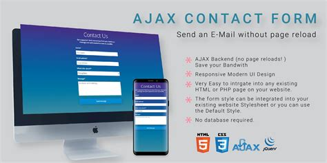 ajax contact form php codester