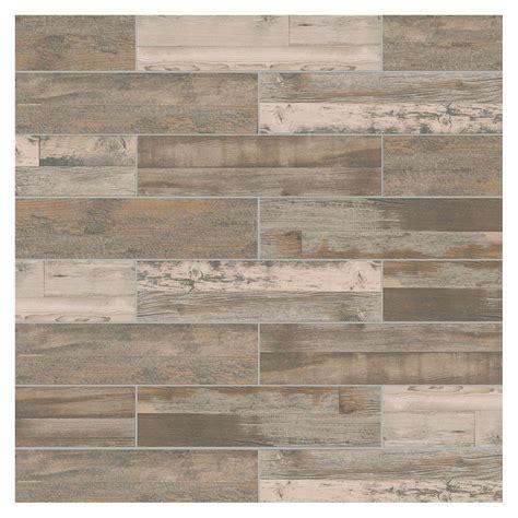 montagna wood weathered gray 6inx24in porcelain floor