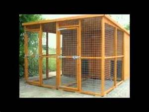 outside dog kennels for sale youtube With outside dog runs for sale