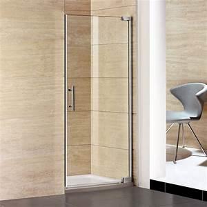 Duschwand Glas : 100cm duschabtrennung duschwand scharniert r 8mm nano glas ~ Pilothousefishingboats.com Haus und Dekorationen