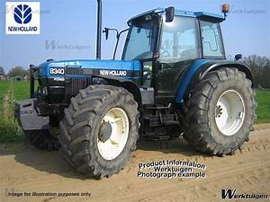 New Holland 8340 SLE - 4wd tractors - New Holland