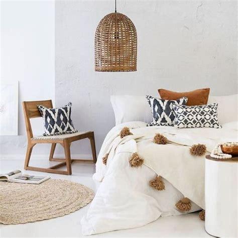 chambre style ethnique chambre ethnique blanc noir marron budget déco style
