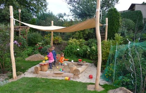 Sandkasten Für Terrasse by Sonnensegel Sandkiste Garten Garten Ideen Und