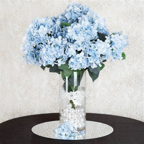 silk hydrangea flowers wedding party home bouquets