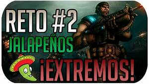 Gears Of War Judgment Reto 2 Comiendo Jalapeos Con