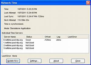 NetTime - Network Time Synchronization Tool