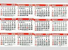 400 Mini Calendário 2019 Bloco Para Imã Personalizado R