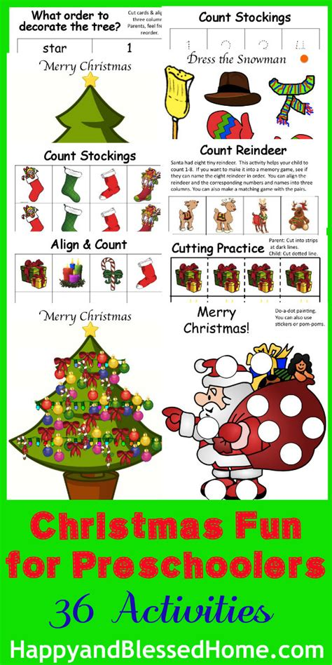 christmas games preschool for preschoolers happy and blessed home 194
