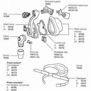Resmed Cpap Nasal Mask Activa Lt Accessories  U0026 Replacement