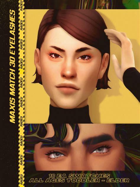 Mm 3d Eyelashes At Radeu Sims 4 Updates