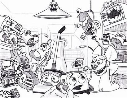 Dude Half Deviantart Movie Drawings