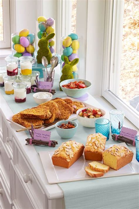 Eastern Kitchen Buffet by Diy Easter Table Decorations Table Decor Ideas For