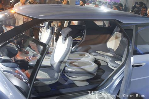 Hyundai Reveals Hexa Space Concept