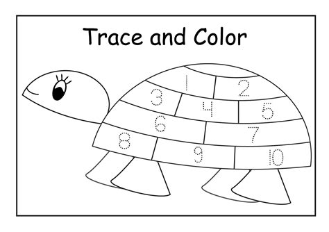free printable tracing numbers 1 20 worksheets on